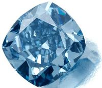 7.03 Blue Diamond from Cullinan Mine