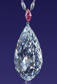 Christies 75 carat Briolette