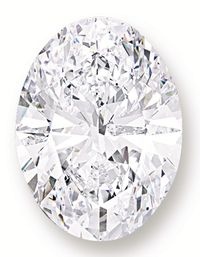 118.28 carat white diamond