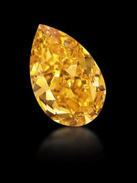 14.82 carat The Orange diamond