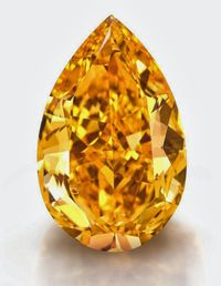 Orange-diamond 14.82 pear-1