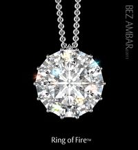 Bez Ambar Blaze Ring of Fire Pendant