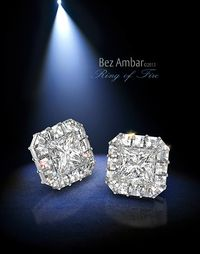 Bez Ambar Blaze Ring of Fire Earrings