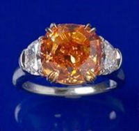 Pumpkin diamond 5.54 carat-1