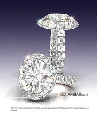 Bez Ambar Blaze Ring of Light Ring