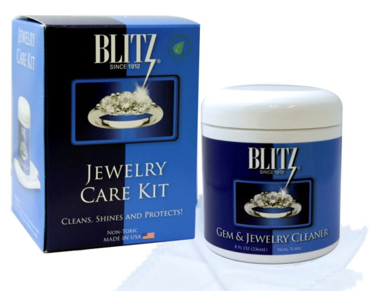 Jewelry cleaner kit