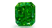1.01 carat Vivid Yellowish Green diamond