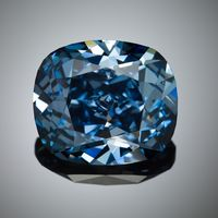 12 ct Blue Moon Diamond