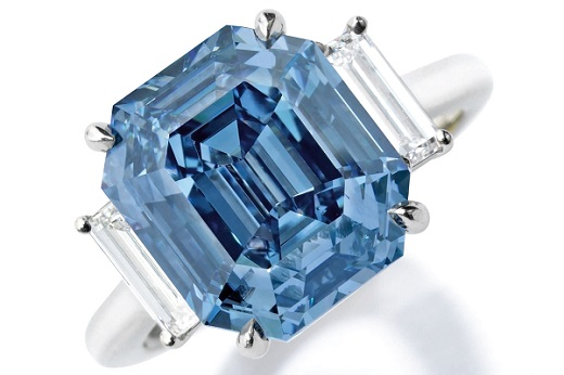 Sothebys blue diamond sale