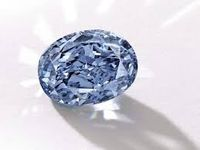 10.1 carat Internally Flawless Fancy Vivid Blue Diamond