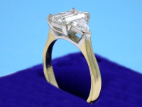 Emerald Cut 1.32 ct 1.42 ratio 0.46 TRIL AD-2sm