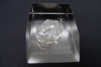 Gem Diamonds Letseng 126ct rough diamond