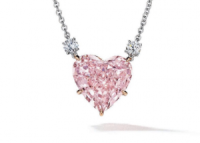 Pink Heart Diamond 15.56 carat