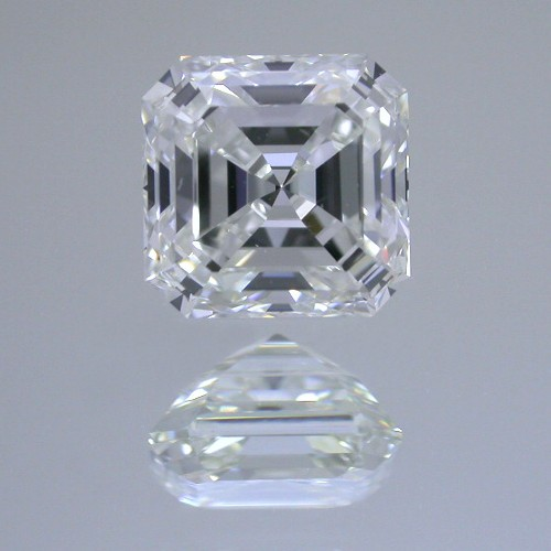Asscher Cut Diamond 1.07 carat