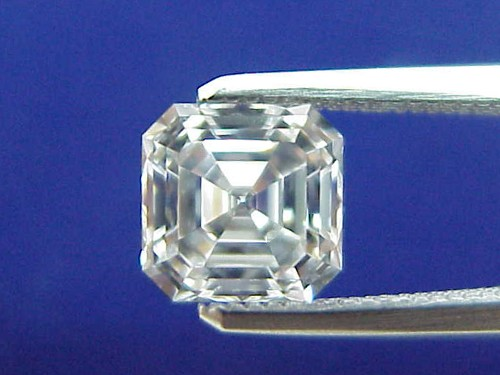 Asscher Cut diamond 1.46 carat