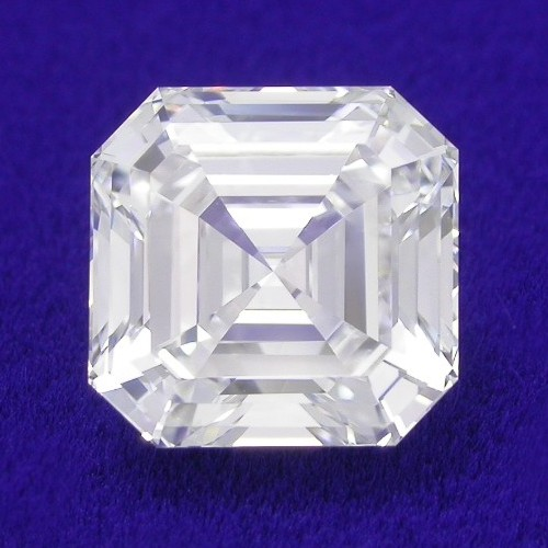 Asscher Cut Diamond 1.58 carat
