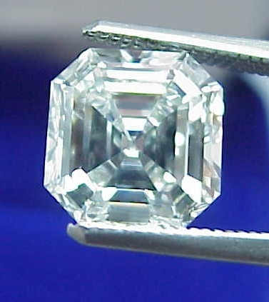 Asscher Cut Diamond 3.54 carat