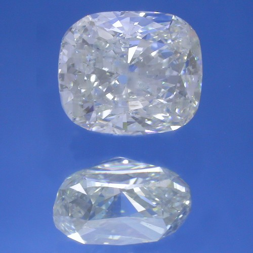 Cushion Cut Diamond 2.31 Carats with 1.18 Ratio