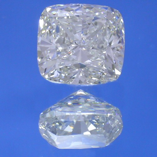 Cushion Cut Diamond 2.73 Carats with 1.03 Ratio