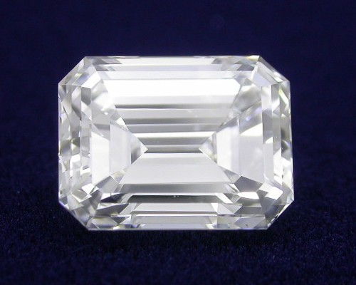 Emerald Cut Diamond 2.36 carat 1.50 ratio