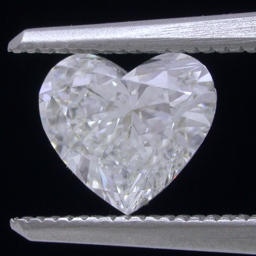 Heart Shaped Diamond 1.26 carats