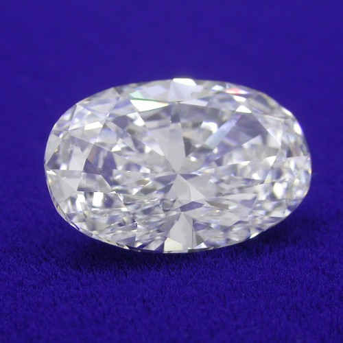 Oval Diamond 2.02 carats 1.47 ratio